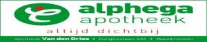 Alphega bord v.d. Dries 1A+