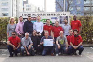 Sponsoring Endenburg 2018 Groepsfoto